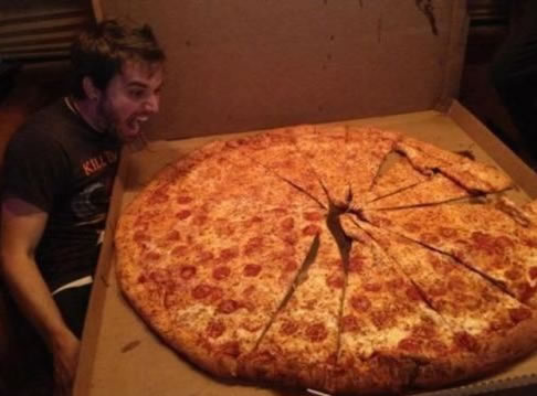 Is this the biggest pizza ever?