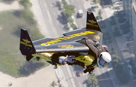 Rocketman alive: Jetman soars over Rio