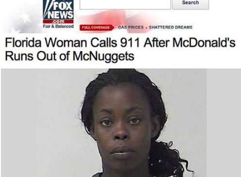 Woman calls 911 after McDonalds runs out of Mcnuggets