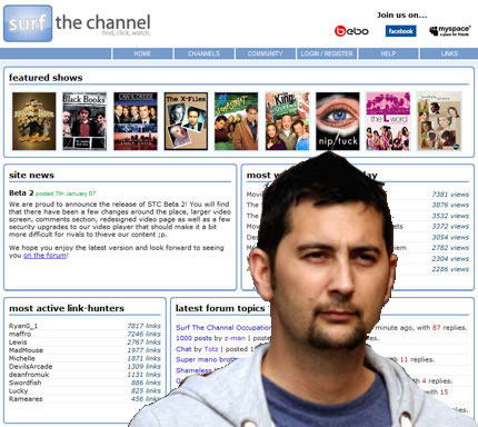 £60,000 a month pirate jailed over download site Surfthechannel.com