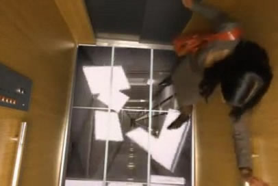 Lg elevator floor prank leaves people terrifed younilife for Elevator floor prank
