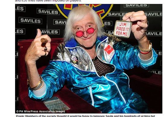 University Rugby Club Holds Jimmy Savile Theme – Gets Banned
