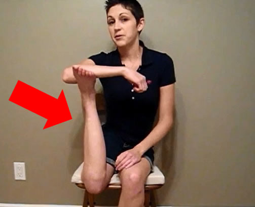 Cancer Survivor Can Rotate Her Leg 180 Degrees