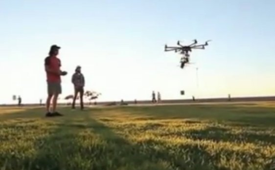 Will Drones Deliver Beer To Concertgoers?