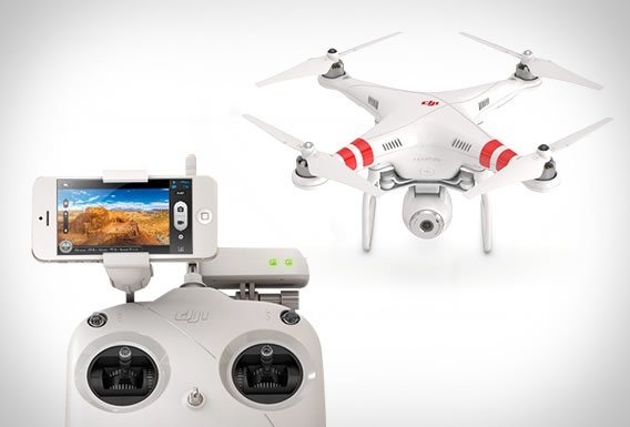 The Phantom 2 Vision (Video)