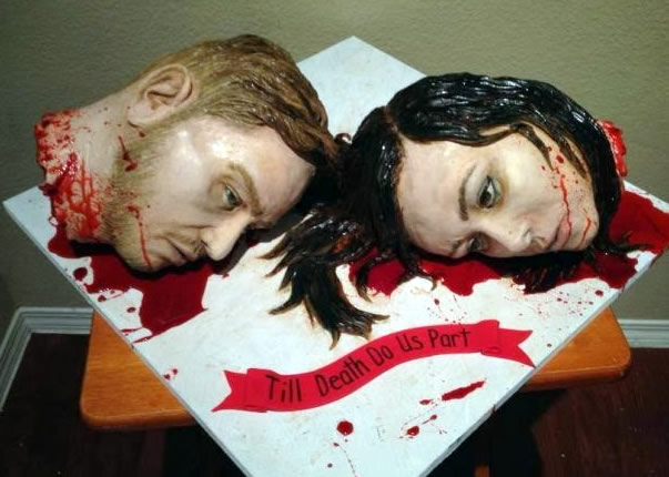 One Hell Of A Wedding Cake