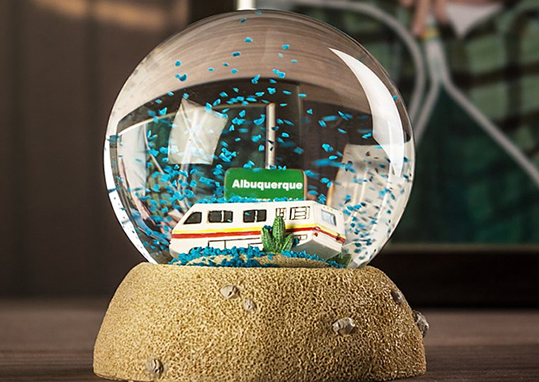 The Breaking Bad Snow Globe