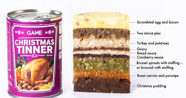 Gamer Food Launched: Tin With A Three-course Meal
