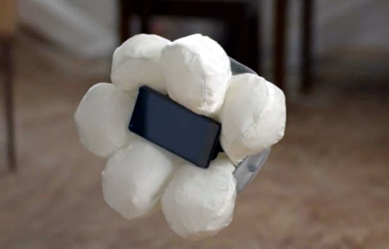 Honda Develops Smartphone Airbag