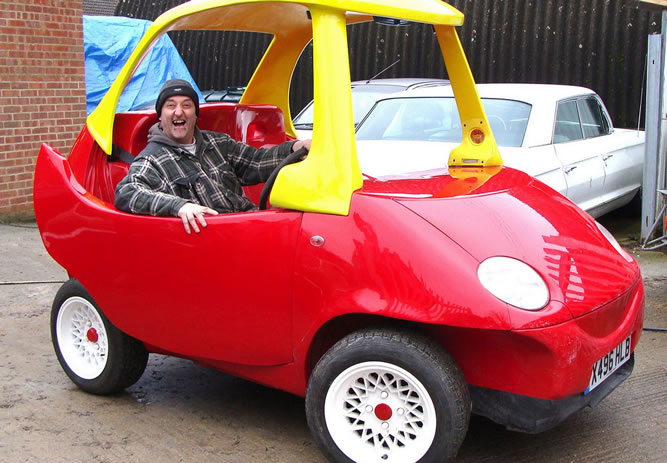 Adult sized 'Little Tikes' Built By Fan