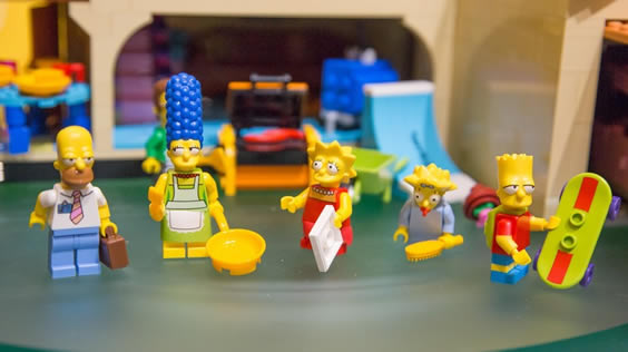 Lego Launches The Simpsons Lego set