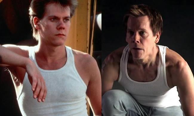 Kevin Bacon Recreates His Footloose Dance 30 Years On