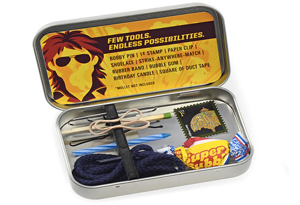 The MacGyver Emergency Toolkit
