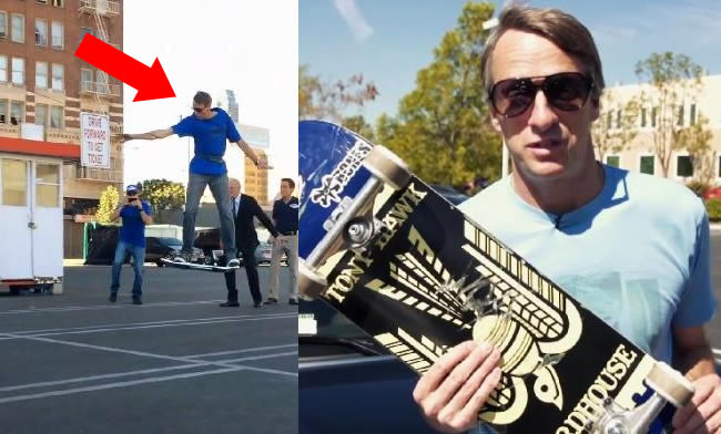 Tony Hawk Apologises For Fake Stunt