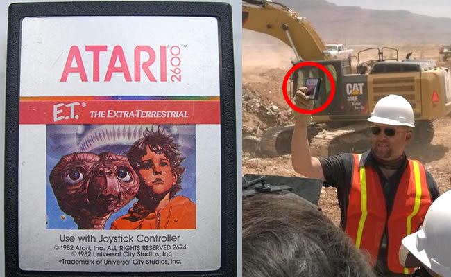 Microsoft Digs Up 14 Truckloads of An Old Atari Game In The Desert