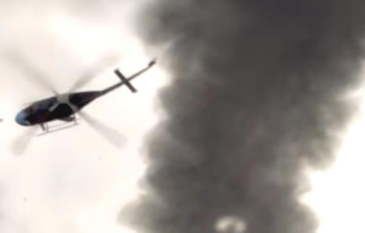 Helicopter Gets Sucked Into Tornado – Real Or Fake?