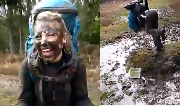 How Not To Jump Over A Puddle Of Mud
