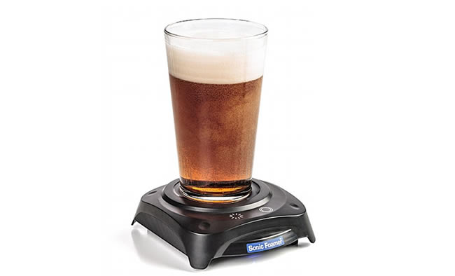The Sonic Foamer Can Create A Head On Any Beer