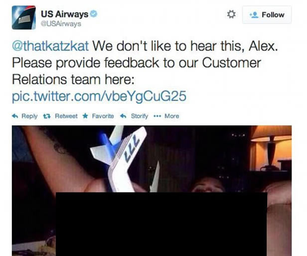 Worst US Airways Tweet In History Goes Viral