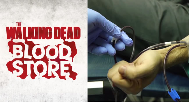 The Walking Dead Store In Portugal Lets You Pay With Blood