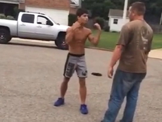 Video: 34-Year-Old Gets Owned By A 17-Year-Old