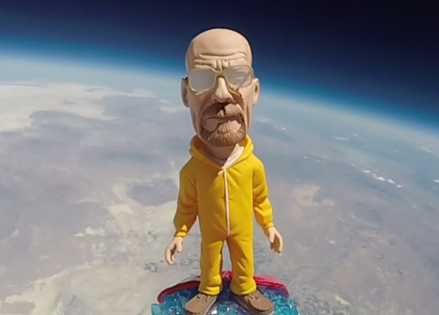 Walter White In Space – Kind Of…