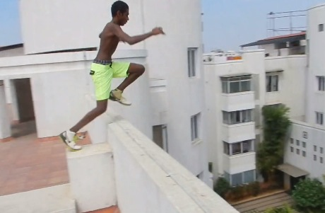 Suicidal Kid Jumps Off A 22m Building Into Pool