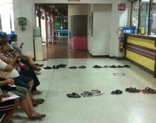 This Is How People Queue In Asia