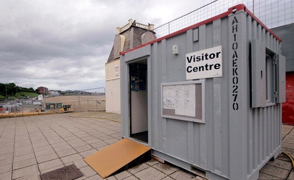 Visitor Centre In Welsh Town Is a Workman's Hut