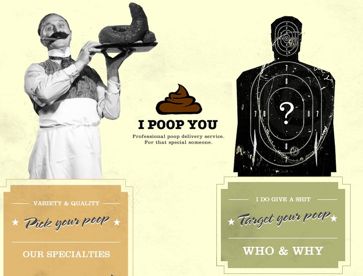 IPoopYou.com: The Professional Poop Delivery Service