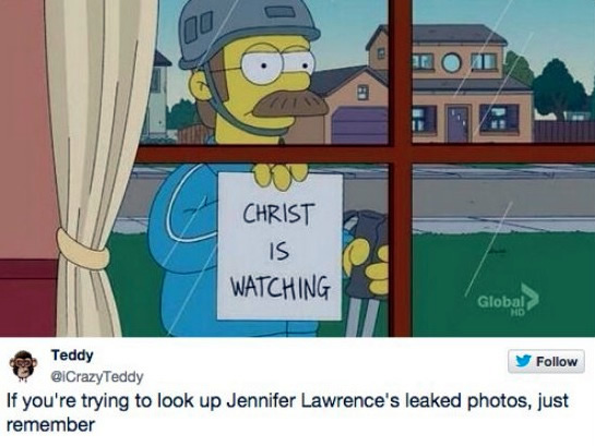 Just Remember When Looking At Those Jennifer Lawrence Photos…