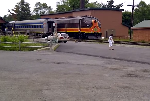 Video Of The Week: This Guy Just Loves Trains…