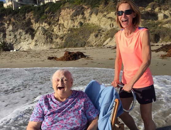 Grandma's Dying Wish Is To See The Ocean One Last Time
