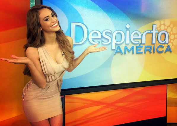 The Mexican Weather Queen: Yanet Garcia