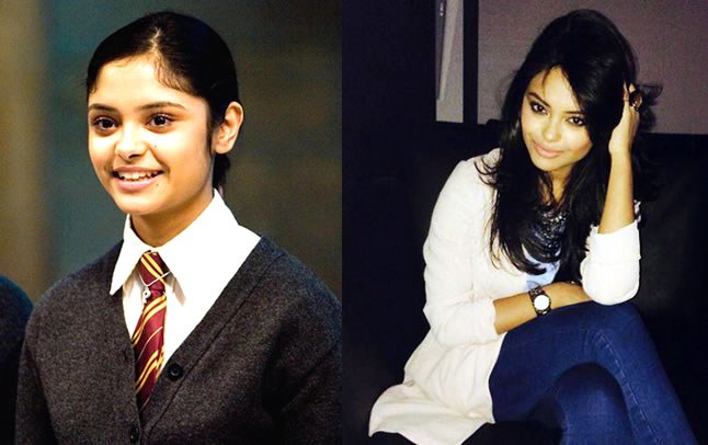 living heres what rons date padma patil from harry potter looks like