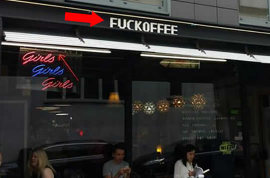 Coffee shop in London ordered to remove its 'offensive' name sign