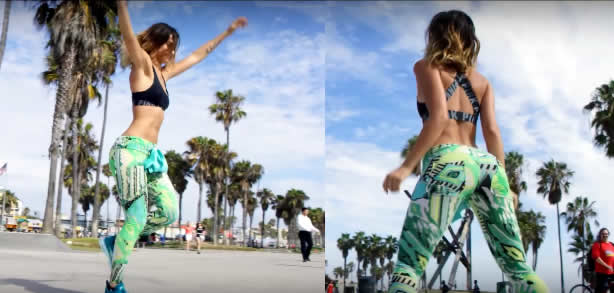 This Woman makes a living out of Twerking