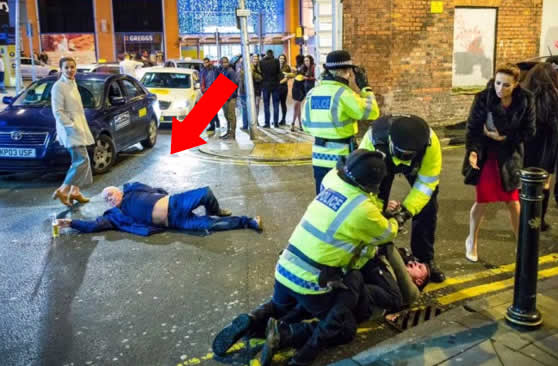 When People Get Drunk in Manchester it becomes Art