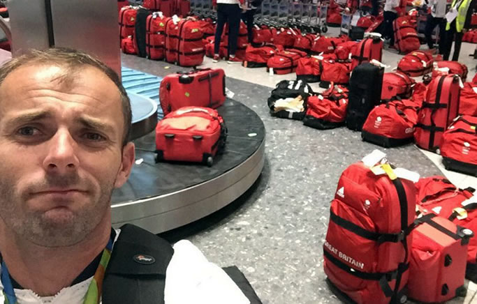 British Olympic Athletes All Have The Same Bag And Nobody Knows Whose Is Whose