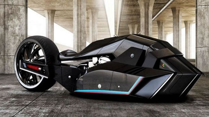 The BMW Titan Motorcycle