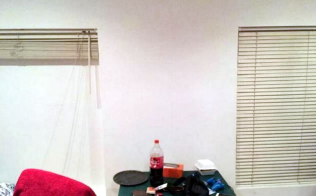 Two London renters found their new house's blinds serve no purpose