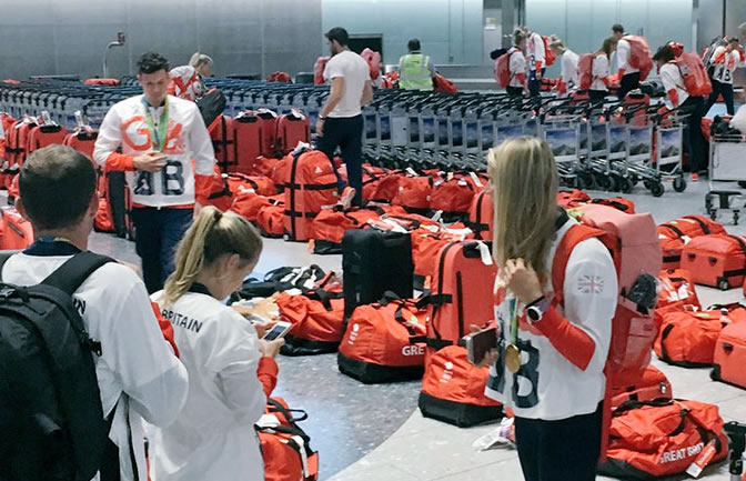red-bags-British Olympic Athletes