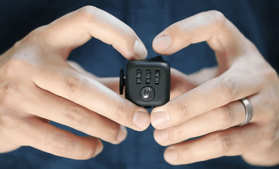 The Fidget Cube: A useless toy for nervous fiddling