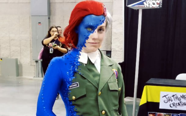 This Mystique cosplay blew everyone's mind at Comic Con