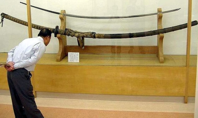 The biggest Samurai Sword ever?
