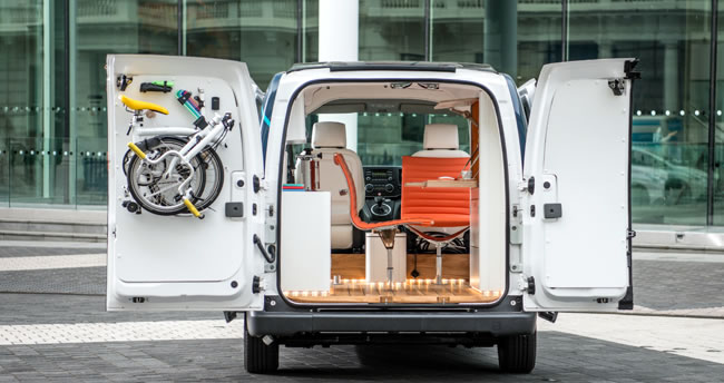 Nissan Have Designed An Office in a Van