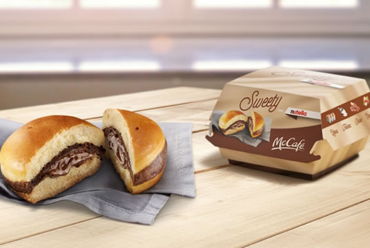 McDonald's Now Has A Nutella Burger