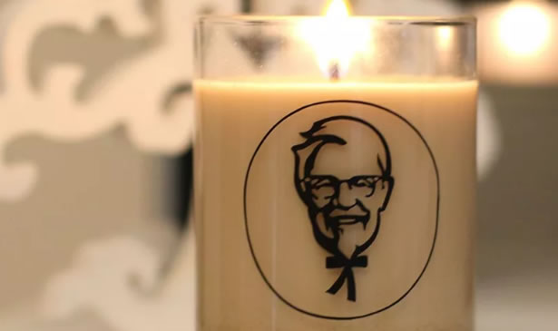 KFC Released A Candle That Smells Of Fried Chicken
