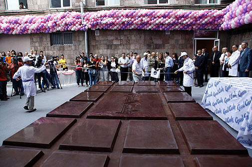 World's Largest Bar of Chocolate!